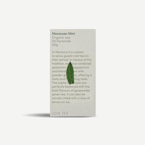 Moroccan Mint Tea Organic 20 Pyramids - Love Tea