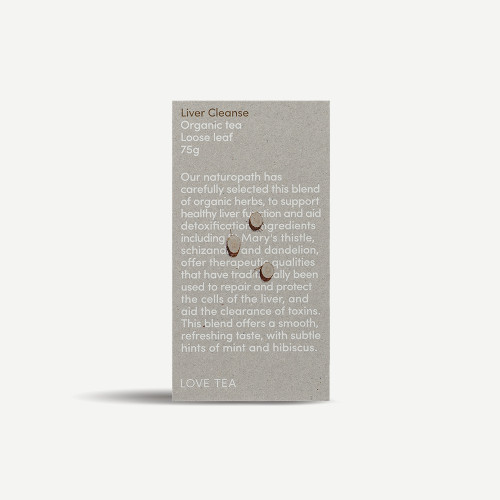 Liver Cleanse Tea Loose Leaf Organic 75g - Love Tea