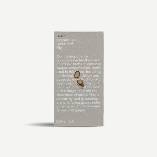 Detox Tea Loose Leaf Organic 75g - Love Tea