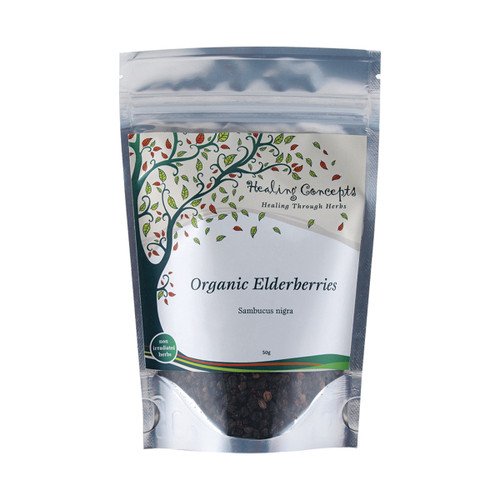 Elderberries Loose Leaf Organic 50g - Healing Concepts