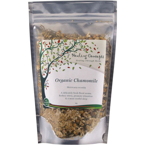 Chamomile Loose Leaf Organic 40g - Healing Concepts