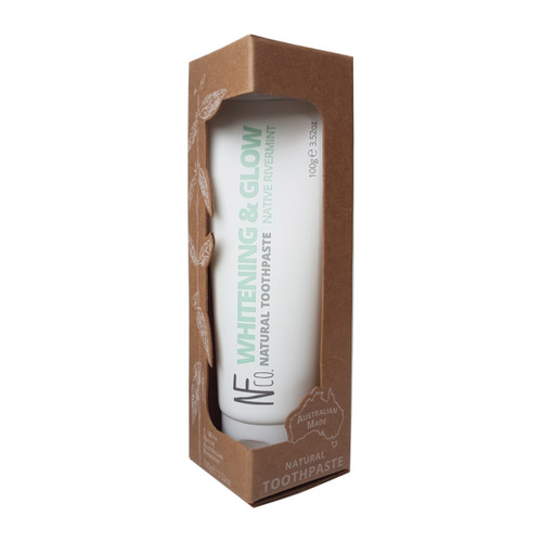 Toothpaste Natural Whitening & Glow 100g - The Natural Family Co.