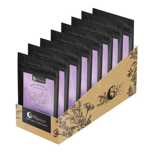 Lunar Latte (Reishi & Sleep Botanicals) Organic Single Serve 6g - Nutra Organics