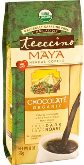 Herbal Coffee/Tea Maya Maca Chocolate Dark Roast Organic 312g All purpose Grind - Teeccino