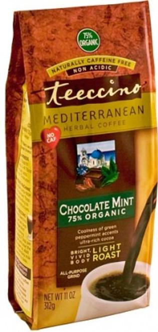 Herbal Coffee/Tea Chocolate Mint Light Roast Organic 312g All purpose Grind - Teeccino