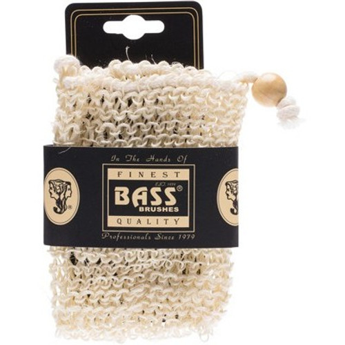 Soap Holder Sisal Pouch with Drawstring - Bass Body Care