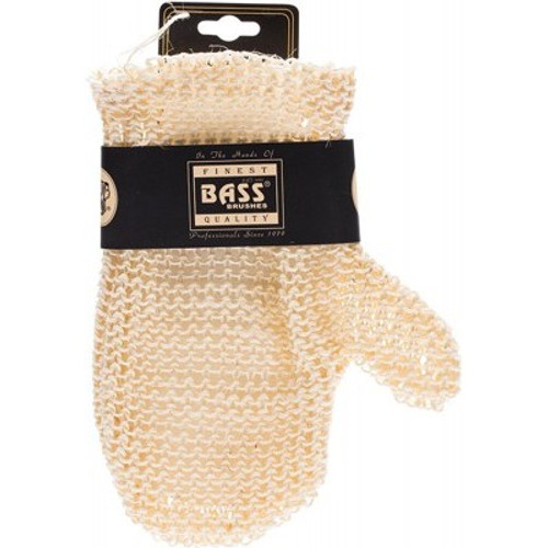 Deluxe Hand Glove Sisal Knitted Style - Bass Body Care