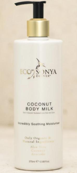 Body Milk Coconut Organic 375ml - EbSD/Eco Tan