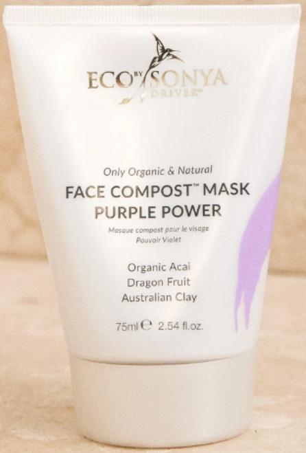 Mask Face Compost Purple Power Organic 100ml - EbSD/Eco Tan