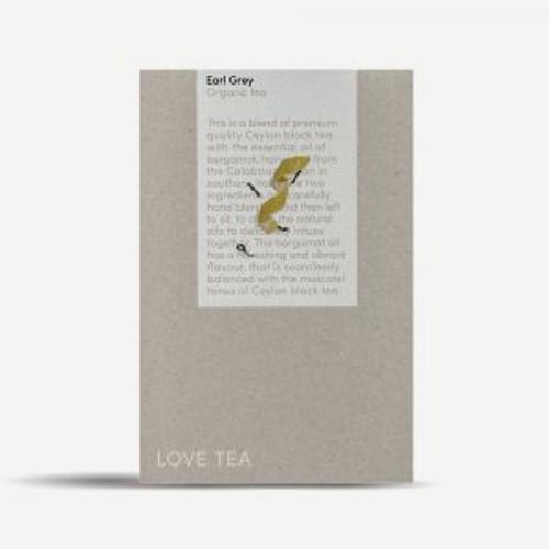 Earl Grey Tea Loose Leaf  Organic 300g  - Love Tea ORDER ONLY