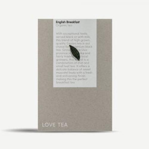 English Breakfast Tea Loose Leaf Organic 500g - Love Tea ORDER ONLY