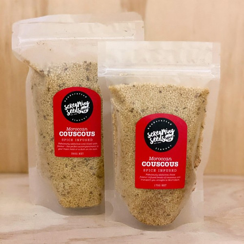 Couscous Moroccan Infused 175g - Screaming Seeds