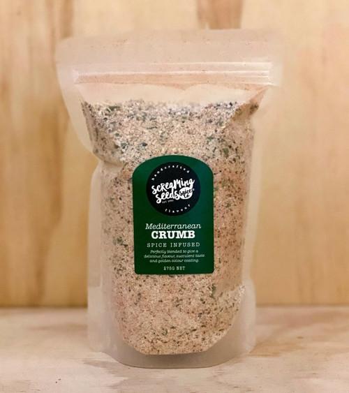 Krumbo Mediterranean Crumb Coating 275g - Screaming Seeds