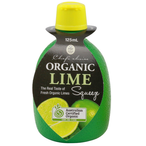 Lime Juice Squeeze Organic 125ml - Chefs Choice