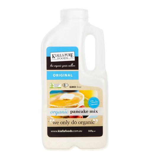 Pancake Mix Original Shaker Bottle Organic 325g - Kialla