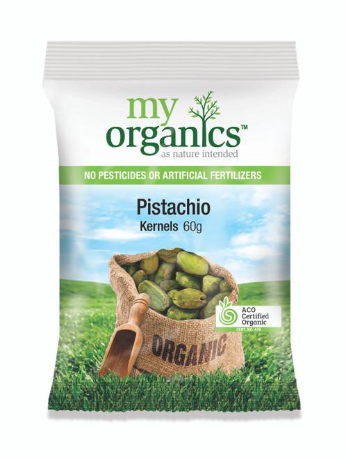 Pistachios Raw Organic 60g - My Organics