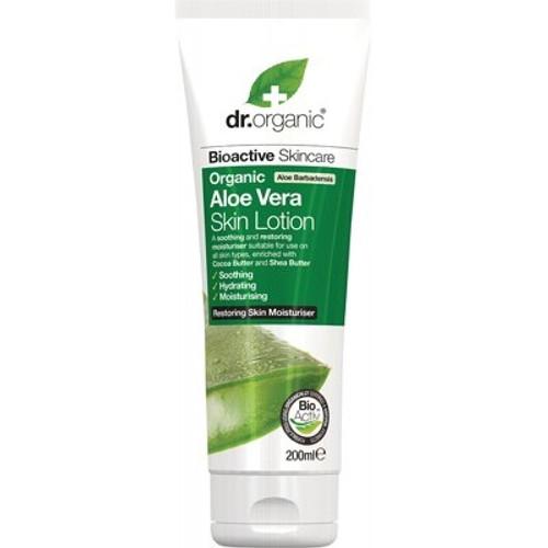 Aloe Vera Skin Lotion Organic 200ml - Dr Organic