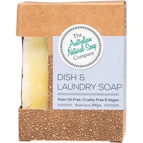 Dish & Laundry Soap Bar 200g - The Australian Natural Soap Company