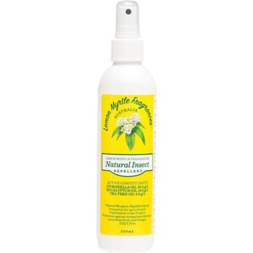 Lemon Myrtle Natural Insect Repellent 250ml - Lemon Myrtle Fragrances