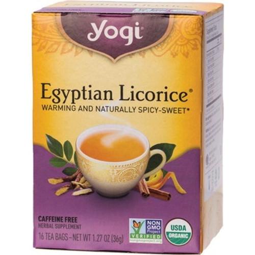 Egyptian Licorice Tea 16 Bags - Yogi Tea