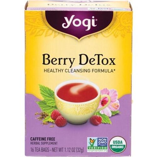 Berry Detox Tea 16 Bags - Yogi Tea