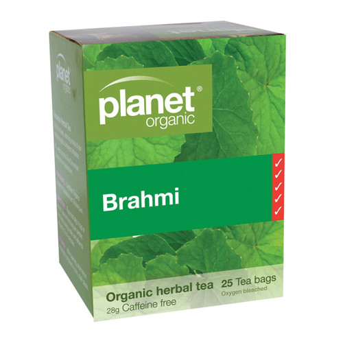 Brahmi Herbal Tea Organic 25 Bags - Planet Organic
