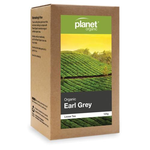 Earl Grey Loose Leaf Tea Organic 125g - Planet Organic