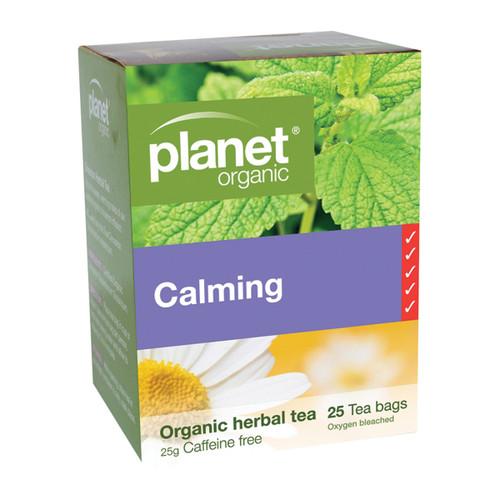 Calming Herbal Tea Organic 25 Bags - Planet Organic