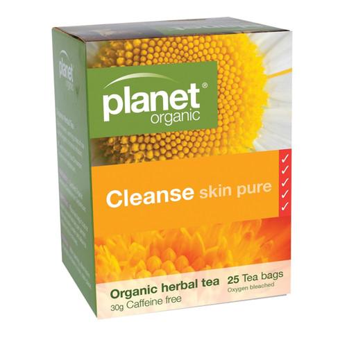 Cleanse Skin Pure Tea 25 Bags Organic - Planet Organic
