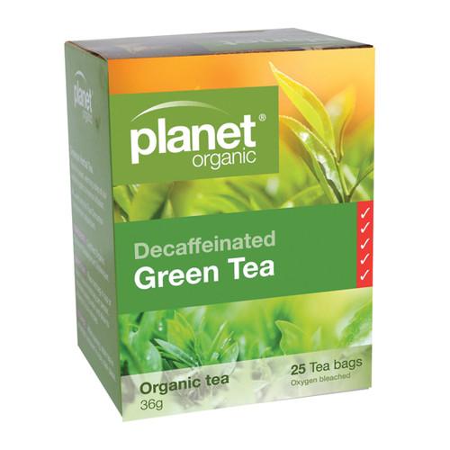 Green Tea Decaffeinated Organic25 Bags - Planet Organic