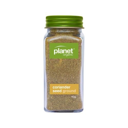 Coriander Seed Ground  Shaker Organic 40g - Planet Organic