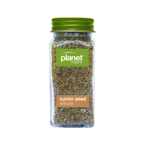 Cumin Seed Whole Shaker Organic 45g - Planet Organic