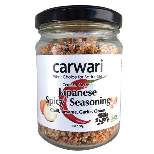 Japanese Spicy Seasoning Organic 100g - Carwari