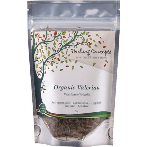 Valerian Loose Leaf Organic 50g - Healing Concepts