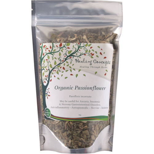 Passionflower Loose Leaf Organic 40g - Healing Concepts