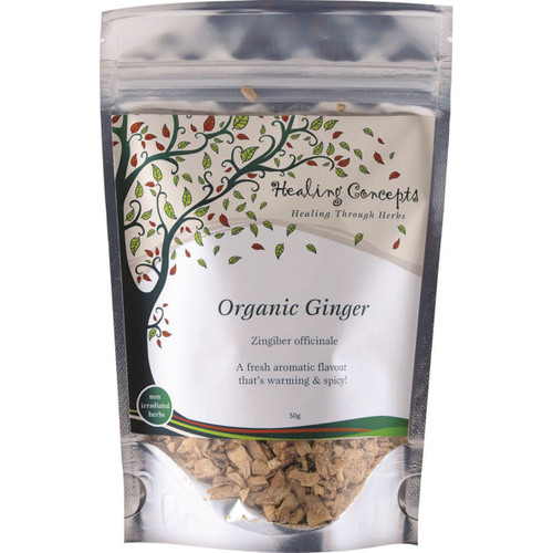 Ginger Tea Loose Leaf Organic 50g - Healing Concepts