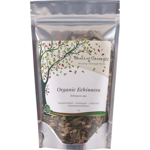 Echinacea Tea Loose Leaf Organic 50g - Healing Concepts