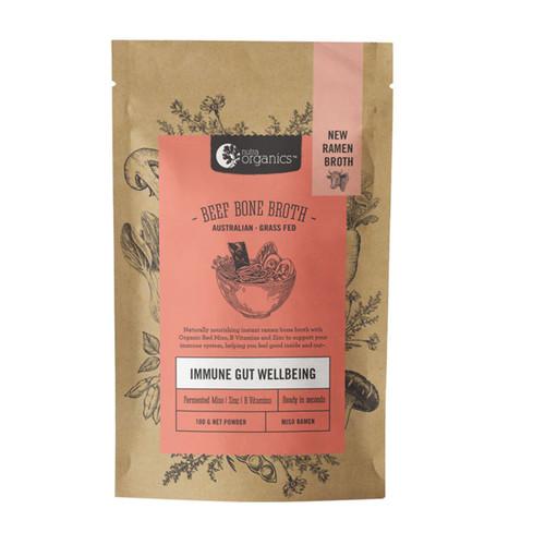 Beef Bone Broth Miso Ramen Organic 100g - Nutra Organics