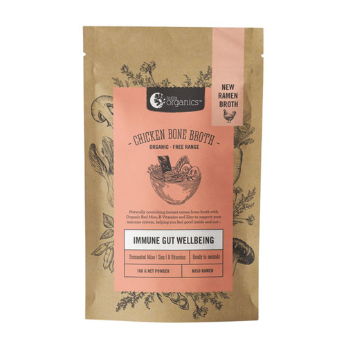 Chicken Bone Broth Miso Ramen Organic 100g - Nutra Organics