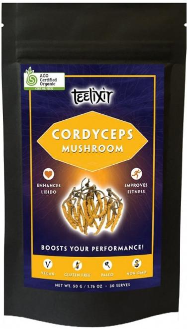 Cordyceps powder Organic 60g - Teelixir