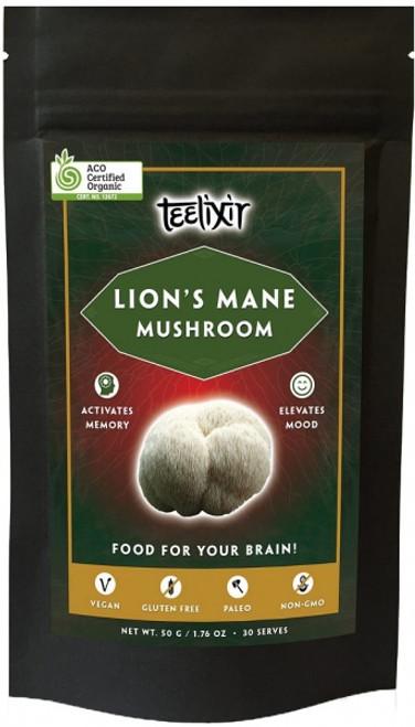 Lions Mane powder Organic 60g - Teelixir