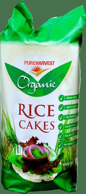 Rice Cakes Organic 150g - Pure Harvest