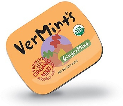Mints Ginger Organic 40g - Vermints