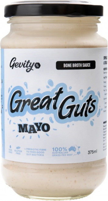 Bone Broth Sauce Great Guts Mayo G/F 375ml - Gevity Rx