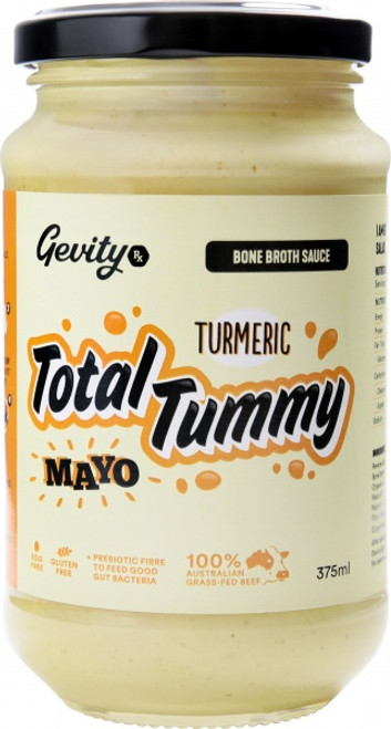 Bone Broth Sauce Total Tummy Turmeric Mayo G/F 375ml - Gevity Rx