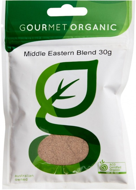 Middle Eastern Blend Organic 30g - Gourmet Organics