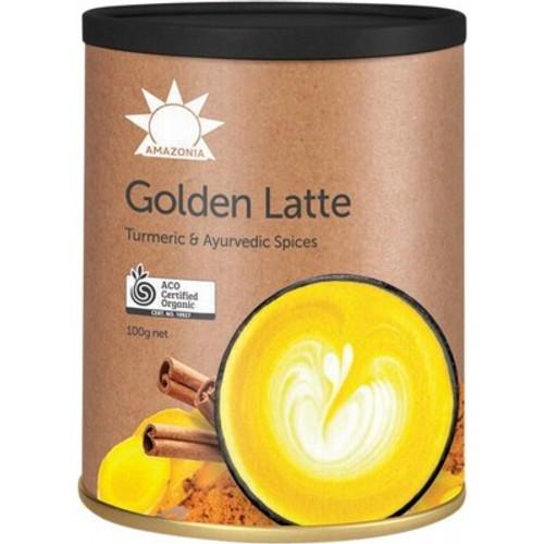 Golden Latte Raw Organic 100g - Amazonia