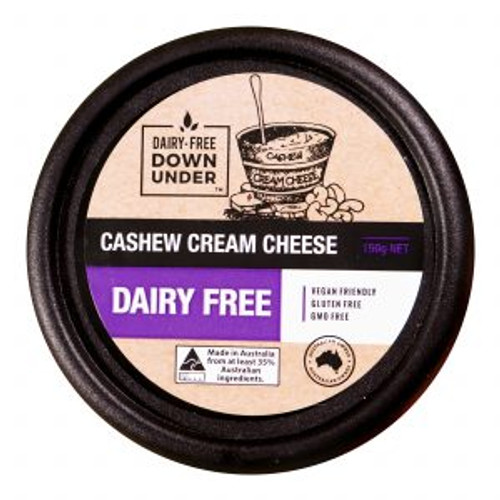 Cashew Cream Cheese Dairy Free Vegan 150g - Dairy Free Down Under