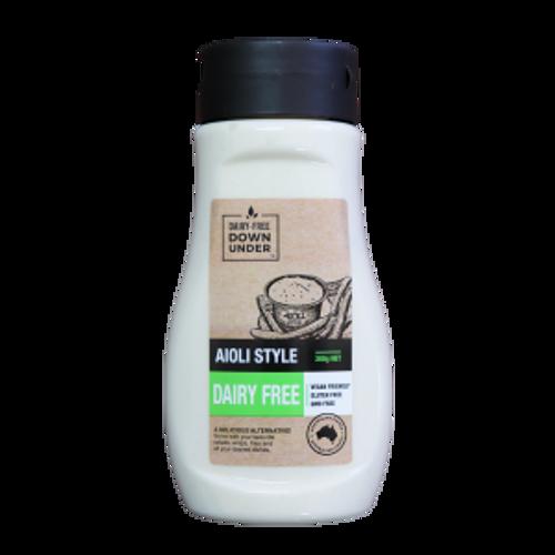 Aioli Style Dairy Free Vegan 300g - Dairy Free Down Under