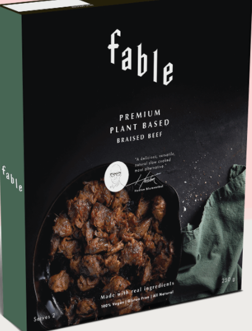 Plant based Braised Beef 250g - Fable Food
